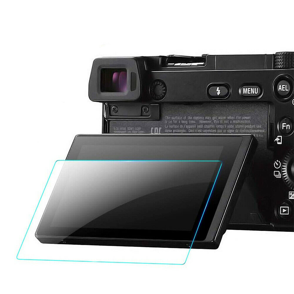 9H Tempered Glass Screen Protector Film Clear For Sony A5000 A6000 A6300/A6400
