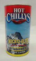 Hot Chillys Womens Micro-elite Chamois Midweight Crew Hc9630 Black Extra Large