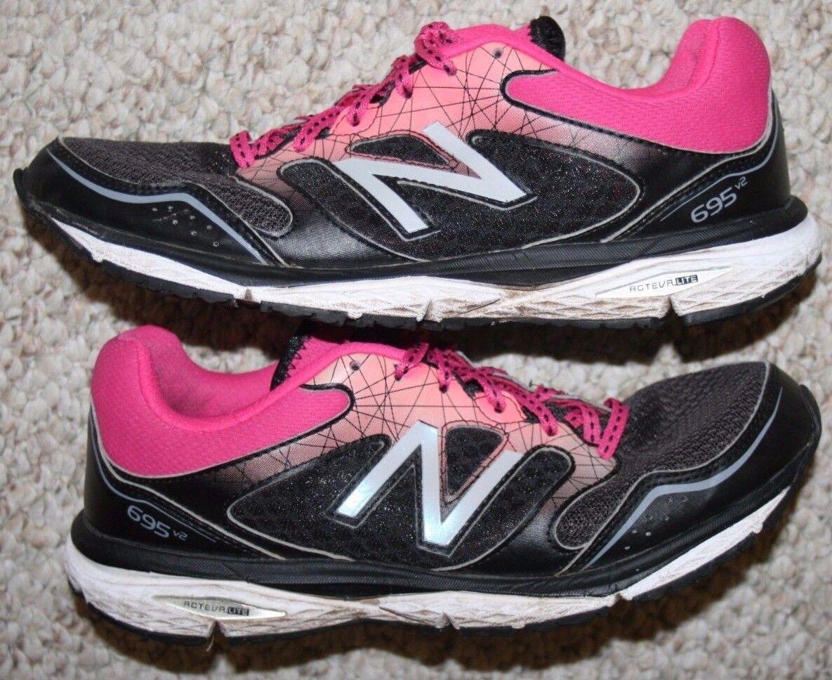 New Balance 695v2 Running shoes 8.5 Black Eight 1 2 Womens Womans Cross Training