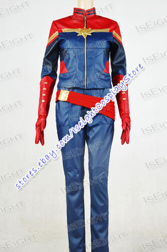 Captain Marvel Cosplay Carol Danvers Costume Beautiful Uniform Comfortable Cool