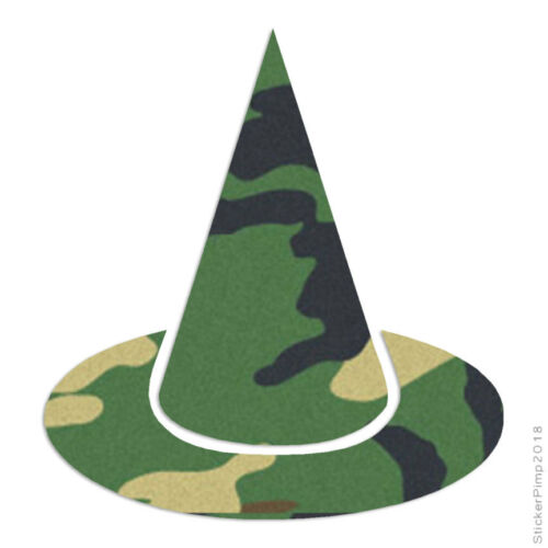 Witch Hat Decal Sticker Choose Pattern Size #1108