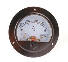 Us Stock Ac 050a Analog Amp Current Panel Meter Ammeter Amp Current Transformer