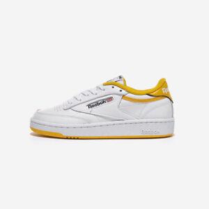 Reebok Club C 85 White Yellow Point All
