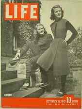 1943 Life Magazine: Leotards/Charles Darwin/Allied troops retake deserted Kiska