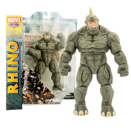 22cm Large The Villain Rhino Action Figure Marvel Select Collection Toys 9in