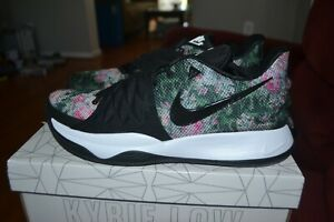 big sale f2cf6 15899 Details about Mens Nike Kyrie 1 Low Floral Black AO8979-002 SZ 8