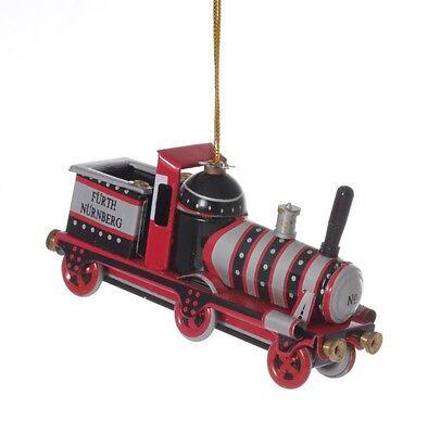 Nostalgisches Blechspielzeug Eine GroßE Auswahl An Farben Und Designs Blechdeko GüNstiger Verkauf Fürther Lokomotive