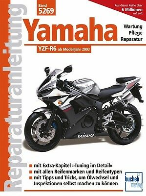 Herrlich Yamaha Yzf R6 Ab 2003 Reparaturanleitung Reparaturbuch Reparatur-handbuch Buch