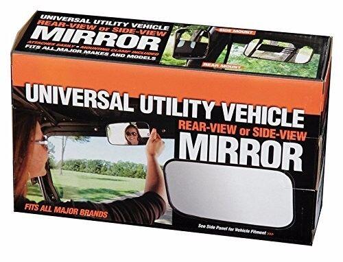 """NEW BAD DAWG UTV RHINO 1.75/"""" UNIVERSAL REAR-VIEW OR SIDE-VIEW MIRROR"""