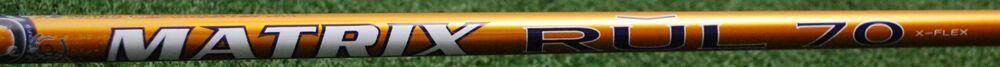 Matrix Ozik RUL 70 Driver Fairway Del Eje-sin Cortar 46   .335 extra Stiff Flex X NUEVO  promociones de equipo