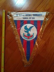 Gagliardetto-CRYSTAL-PALACE-CALCIO-wimpel-pennant-fanion-football-MATCHWORN