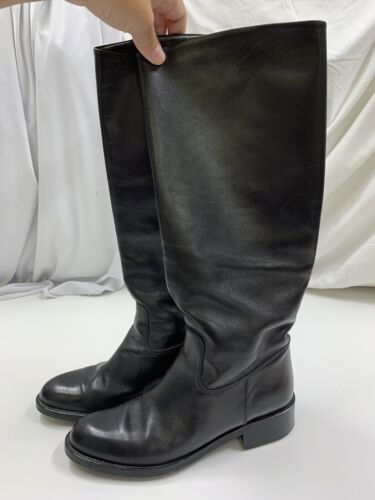 Women's Size 8 M Black Riding Boots From Nordstrom