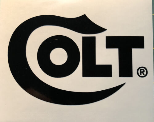 COLT Firearms Vinyl Decal Sticker Gun Pistol Car