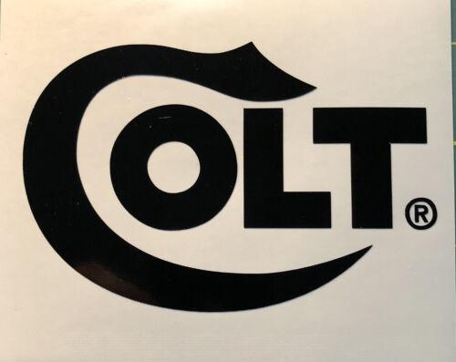 COLT Firearms Vinyl Decal Sticker Gun Pistol Car