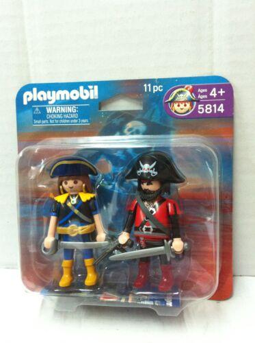 2006 Playmobil Pirati 5814 COPPIA DI PIRATI in Blister MIB