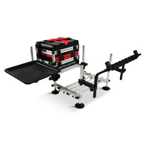 Match-Station-AS5-Drawer-RED-Alloy-Pro-Sport-Seat-Box-Footplate-Spray-Bar-amp-Tray