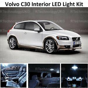 Premium-Volvo-C30-Bombilla-Led-Interior-Kit-De-Actualizacion-Set-Xenon-Blanco-vendedor-del-Reino