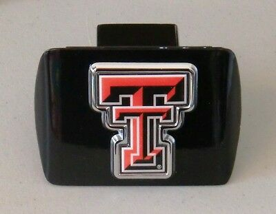 NCAA Texas Tech Red Raiders Oval Hitch Cover