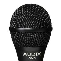 Audix Om5 Premium Dynamic Vocal / Instrument Microphone Mic - Free Us Shipping