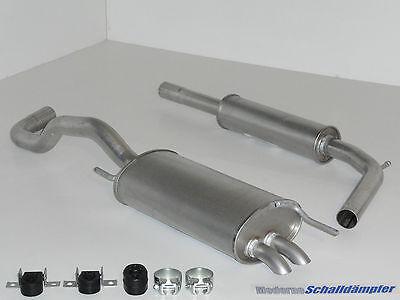 VW POLO 1.4 TDI //1.7 SDI 1.9 SDI  Mittelschalldämpfer  Auspuff Schalldämpfer