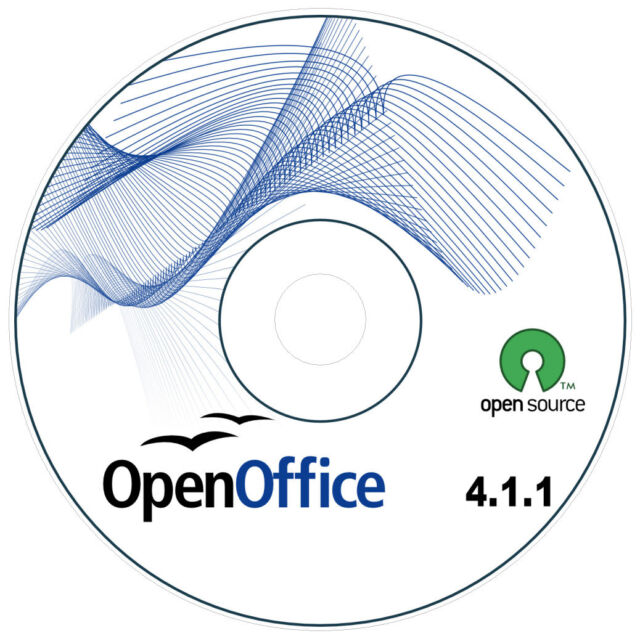 OPEN OFFICE 4.1.1 SOFTWARE FOR WINDOWS 8, 7, 10, VISTA, XP | SHIPS TODAY!