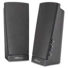 Compucessory Speaker System - 1 W RMS - Black - CCS51544