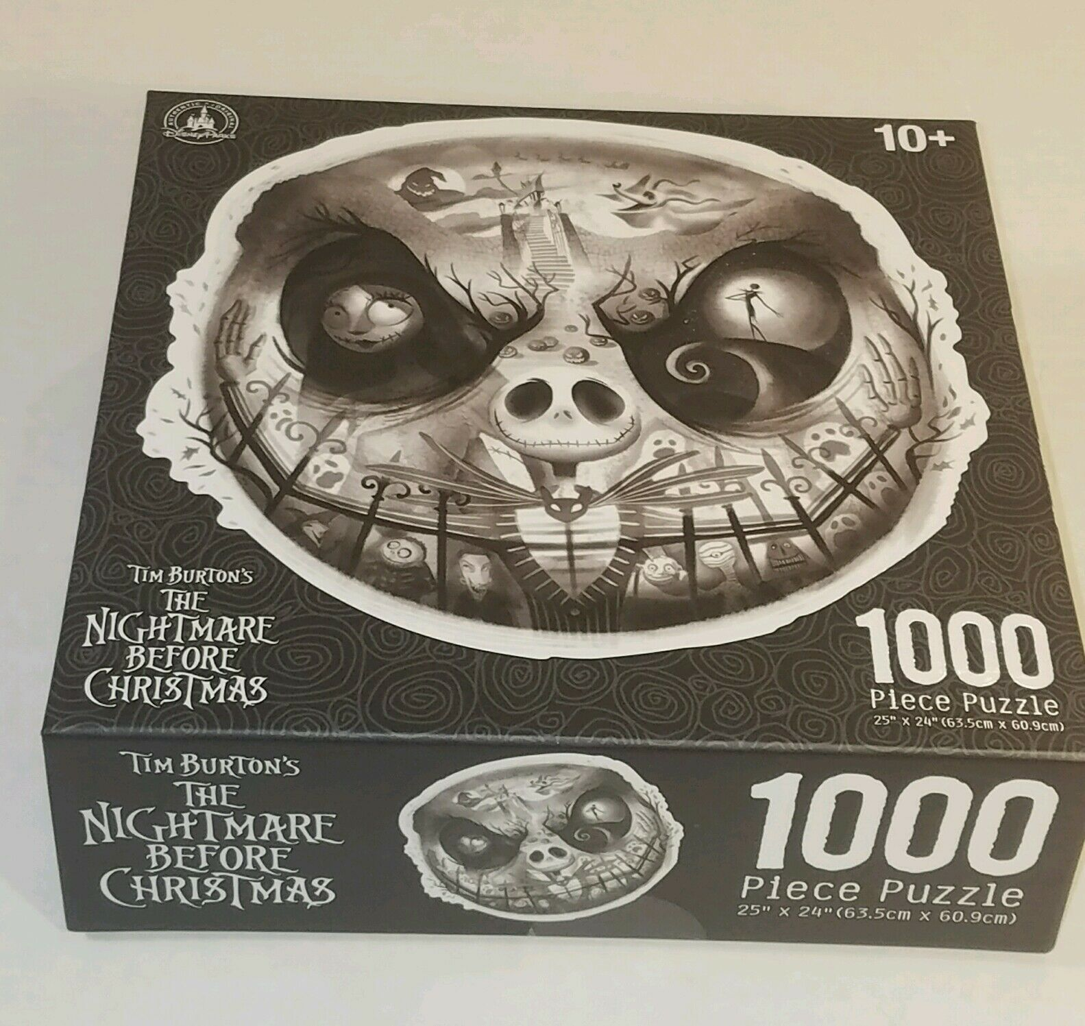 Jack Skellington Scary Face Nightmare Before Christmas Puzzle 1000 ...