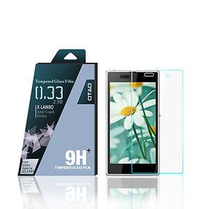 Neuf-OTAO-Sony-Xperia-Z1-0-3-ml-edge-transparent-9h-Premium-rigide-protege-ecran