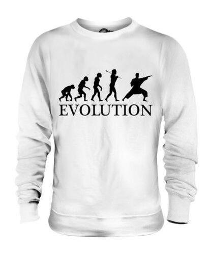 Artes Marciales Evolution Of Man Unisex Suéter Regalo Hombre Mujer Ropa
