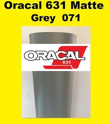 "10 Rolls 12/""x 24/"" Matte Oracal 631 Adhesive backed Vinyl  cutter plotter  USA"