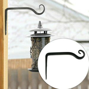 Garden-Flower-Pot-Hanger-Wall-Hanging-Rack-Iron-Holder-Plant-Bracket-Metal-Hook