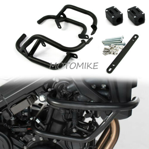 Crash Bars Engine Guard with Slider Protector For BMW F800R 2009-18 F800S 06-10