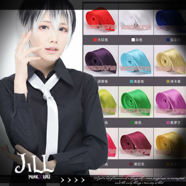 Japan anime cosplay manga akihabara high school silk uniform classic tie JMG6064