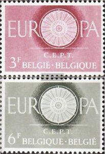 Belgien-1209-1210-kompl-Ausg-FDC-1960-Europa