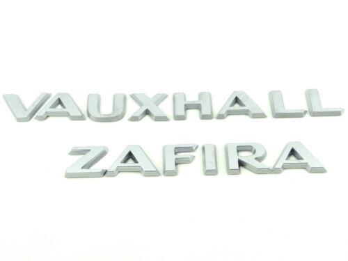Genuine New VAUXHALL /& ZAFIRA BADGES Opel B 2005-2011 EcoM Turbo Elite CDTi