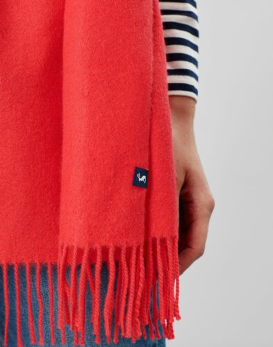 POPPY in One Size Joules Womens Luxbury Soft Long Line Scarf