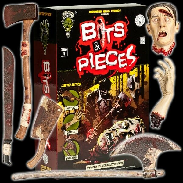 1/6 Shrunken Head Studios - Bits & Pieces Series 1 Set Zombie - LIMITED EDITION
