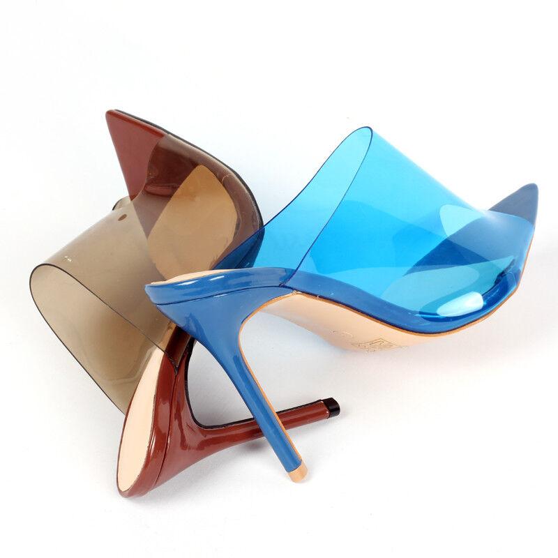 miglior prezzo migliore New Donna    Stiletto High Heels Peep Toes Clear Pumps Sexy Sandals Party scarpe  prezzo all'ingrosso