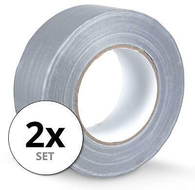 1 gaffa tissu rubans pour conduits de canard 50 mètres x 50mm Gris Bande Gaffer