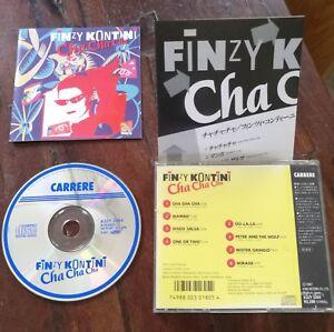 Finzy-Kontini-Cha-Cha-Cha-Japan-Press-Cd-Ottimo