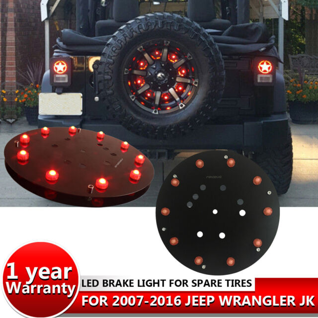 Firebug Jeep Wrangler 3rd Brake Light, Jeep JK Accessories For Spare Tire  Lights