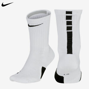 white basketball shoes with black socks