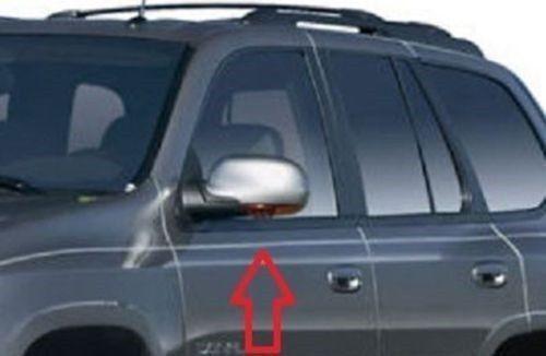 FOR 02-09 Chevy TrailBlazer GMC 02-09 Envoy Chrome Mirror 4 Door Handle Covers