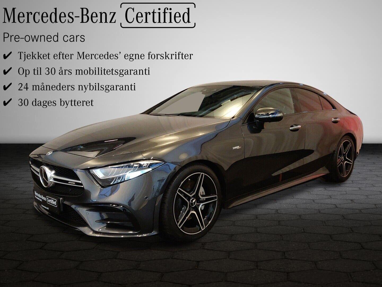 Mercedes CLS53 3,0 AMG aut. 4-M+ 4d - 1.574.800 kr.