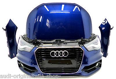 Audi A1 8X Front S-Line  Frontpaket ,Kühler,Xenon ,Stoßstange Scubablau 13256km