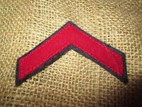 WWI US Navy Discharge chevron patch wool