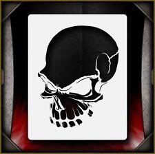 """Skull 9"" Airbrush Stencil Template Airsick"