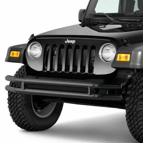 Smittybilt For 76-06 Wrangler Tubular Jeep Front Bumper Textured JB44-FNT