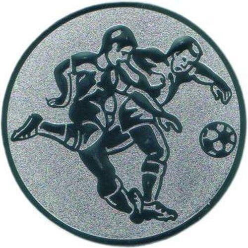 Medaillen Pokale Pokal Emblem Jugend Turnier 24 Embleme D:50mm Fußball 2 Pokale & Preise