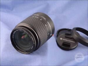 Minolta / Sony Mount Konica Minolta AF DT 18-70mm f3.5-5.6 Zoom Lens - EXC - 200